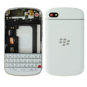 Blackberry Q10 Housing With Keyboard White OEM