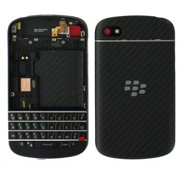 Blackberry Q10 Housing With Keyboard Black OEM