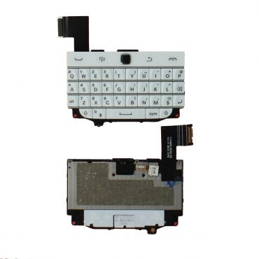 Blackberry Q20 Keyboard Replacement White OEM