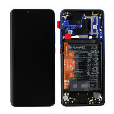 Huawei Mate 20 Pro Twilight LCD Screen & Digitizer with Battery - 02352GGC