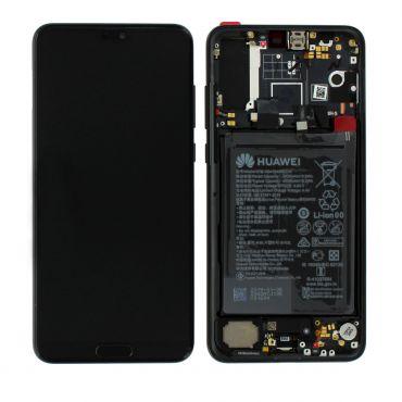 Huawei P20 Pro Black LCD Screen & Digitizer with Battery - 02351WQK