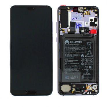 Huawei P20 Pro Twilight LCD Screen & Digitizer with Battery - 02351WTU