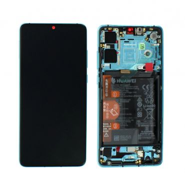 Huawei P30 Aurora Blue LCD Screen & Digitizer with Battery - 02352NLN