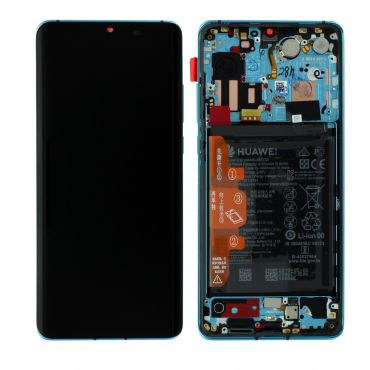 Huawei P30 Pro Aurora Blue LCD Screen & Digitizer with Battery - 02352PGE