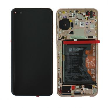 Huawei P40 Blush Gold LCD Screen & Digitizer with Battery - 02353MFV