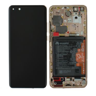 Huawei P40 Pro Blush Gold LCD Screen & Digitizer with Battery - 02353PJL