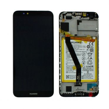 Huawei Y6 2018 Black LCD Screen & Digitizer with Battery - 02351WLJ