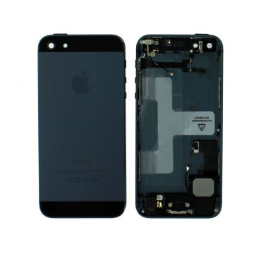 Apple iPhone 5 Rear Housing With Components - Black