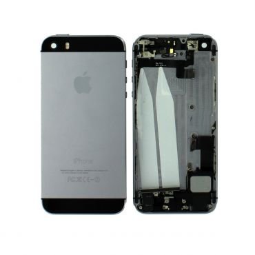 Apple iPhone 5S Rear Housing With Components - Black