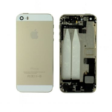 Apple iPhone 5S Rear Housing With Components - Gold