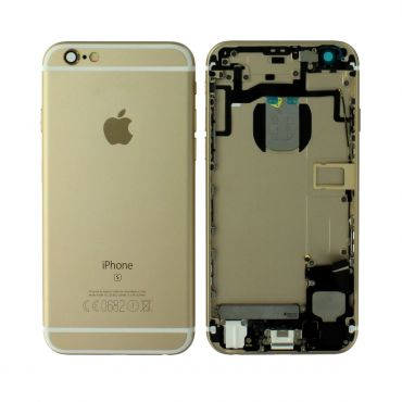 Apple iPhone 6S Rear Housing With Components - Gold