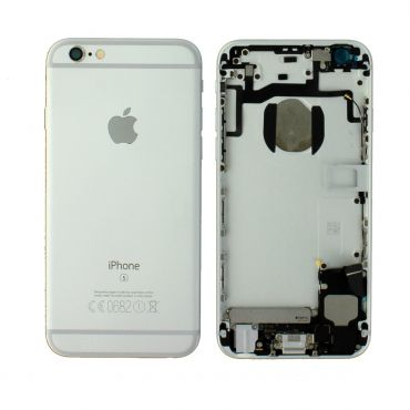 Apple iPhone 6S Rear Housing With Components - Silver
