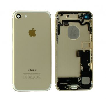 Apple iPhone 7 Rear Housing With Components - Gold