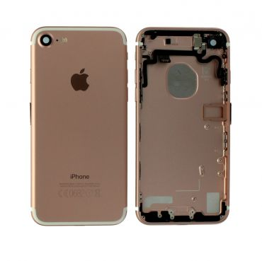 Apple iPhone 7 Rear Housing With Components - Rose Gold