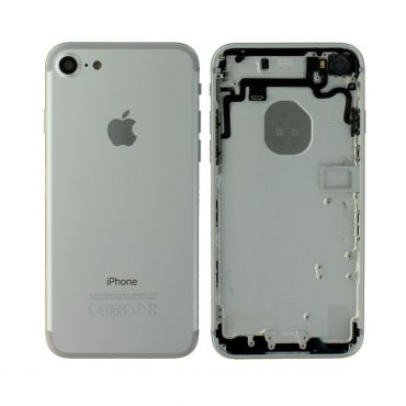 Apple iPhone 7 Rear Housing With Components - Silver