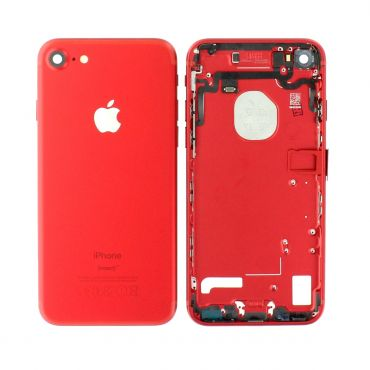 Apple iPhone 7 Rear Housing With Components - Red