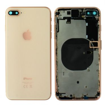 Apple iPhone 8 Plus Rear Housing With Components - Gold