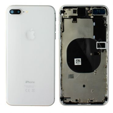 Apple iPhone 8 Plus Rear Housing With Components - Silver