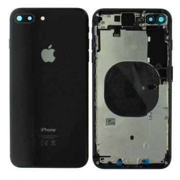 Apple iPhone 8 Plus Rear Housing With Components - Space Grey