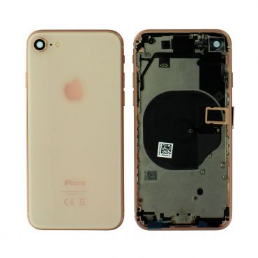 Apple iPhone 8 Rear Housing With Components - Gold
