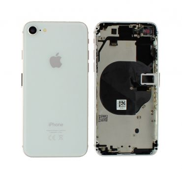 Apple iPhone 8 Rear Housing With Components - Silver