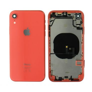 Apple iPhone XR Rear Housing With Components - Coral