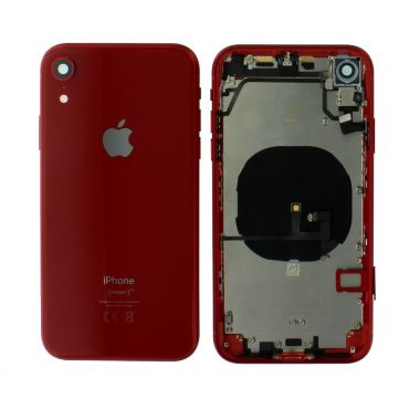 Apple iPhone XR Rear Housing With Components - Red