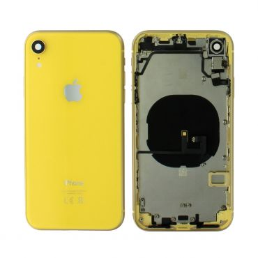 Apple iPhone XR Rear Housing With Components - Yellow