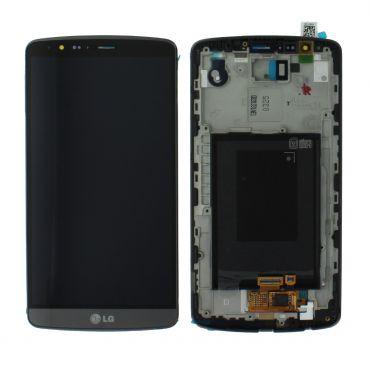 LG G3 D855 Black LCD Screen & Digitizer - ACQ87190302