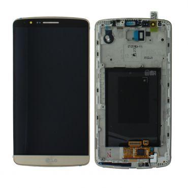 LG G3 D855 Gold LCD Screen & Digitizer - ACQ87190303