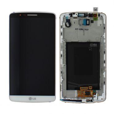 LG G3 D855 White LCD Screen & Digitizer - ACQ87190301