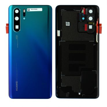 Huawei P30 Pro Aurora Blue Battery Cover with Adhesive - 02352PGL