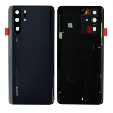 Huawei P30 Pro Black Battery Cover with Adhesive - 02352PBU