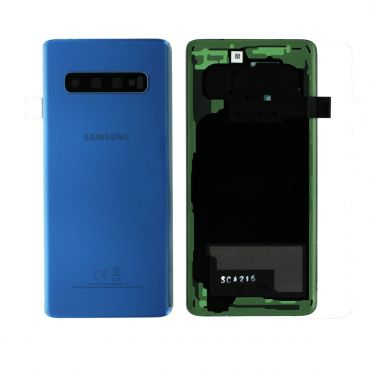 Samsung SM-G973 Galaxy S10 Battery Cover - Prism Blue GH82-18378C