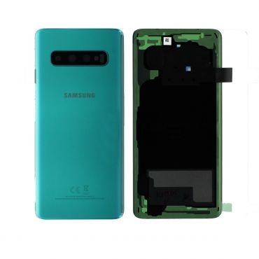 Samsung SM-G973 Galaxy S10 Battery Cover - Prism Green GH82-18378E