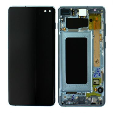 Samsung SM-G975 Galaxy S10 Plus LCD Display / Screen + Touch - Prism Blue GH82-18849C
