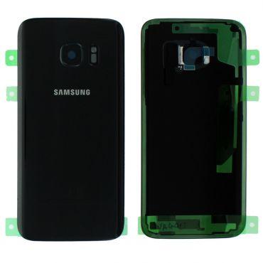 Samsung SM-G930F Galaxy S7 Battery Cover - Black GH82-11384A