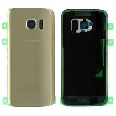 Samsung SM-G930F Galaxy S7 Battery Cover - Gold GH82-11384C