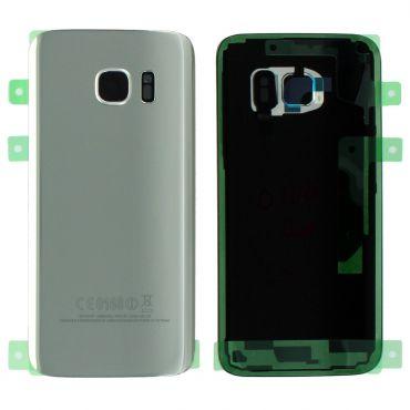 Samsung SM-G930F Galaxy S7 Battery Cover - Silver GH82-11384B