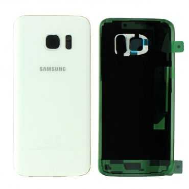 Samsung SM-G930F Galaxy S7 Battery Cover - White GH82-11384D