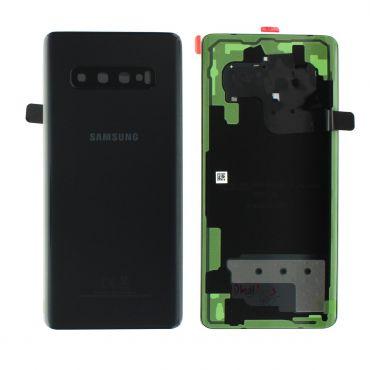 Samsung SM-G975 Galaxy S10 Plus Battery Cover - Prism Black GH82-18406A