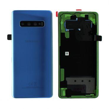 Samsung SM-G975 Galaxy S10 Plus Battery Cover - Prism Blue GH82-18406C