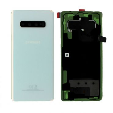 Samsung SM-G975 Galaxy S10 Plus Battery Cover - Prism White GH82-18406F