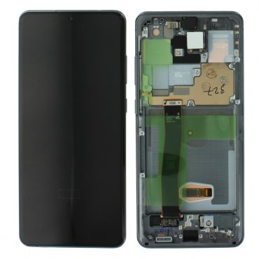 Samsung SM-G988 S20 Ultra LCD Display & Touch Screen - Grey GH82-22327B