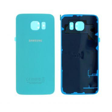Samsung SM-G920 Galaxy S6 Battery Cover - Blue GH82-09825D