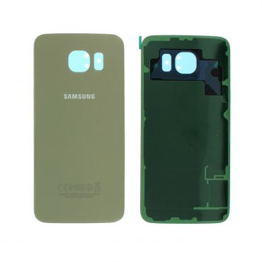 Samsung SM-G920 Galaxy S6 Battery Cover - Gold GH82-09825C