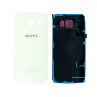 Samsung SM-G920F Galaxy S6 Battery Cover - White GH82-09825B