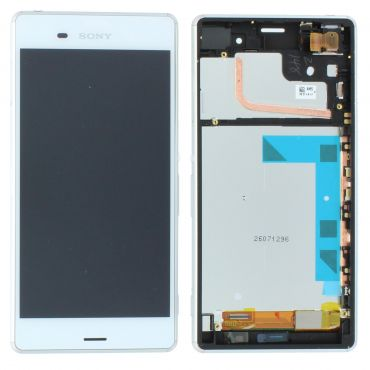 Sony Xperia Z3 White LCD Screen & Digitizer - 1290-6075