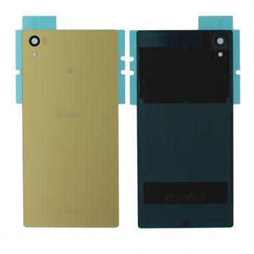 Sony Xperia Z5 E6653, Xperia Z5 Dual Sim E6683 Gold Rear / Battery Cover - 1295-1378