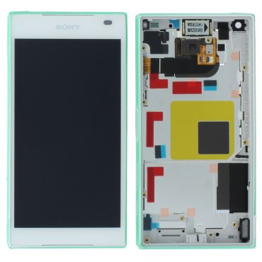 Sony Xperia Z5 Compact White LCD Screen & Digitizer - 1297-3732